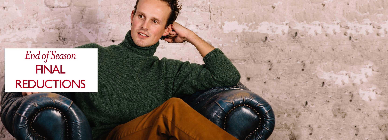 Men's Knitwear & Wool Jumpers