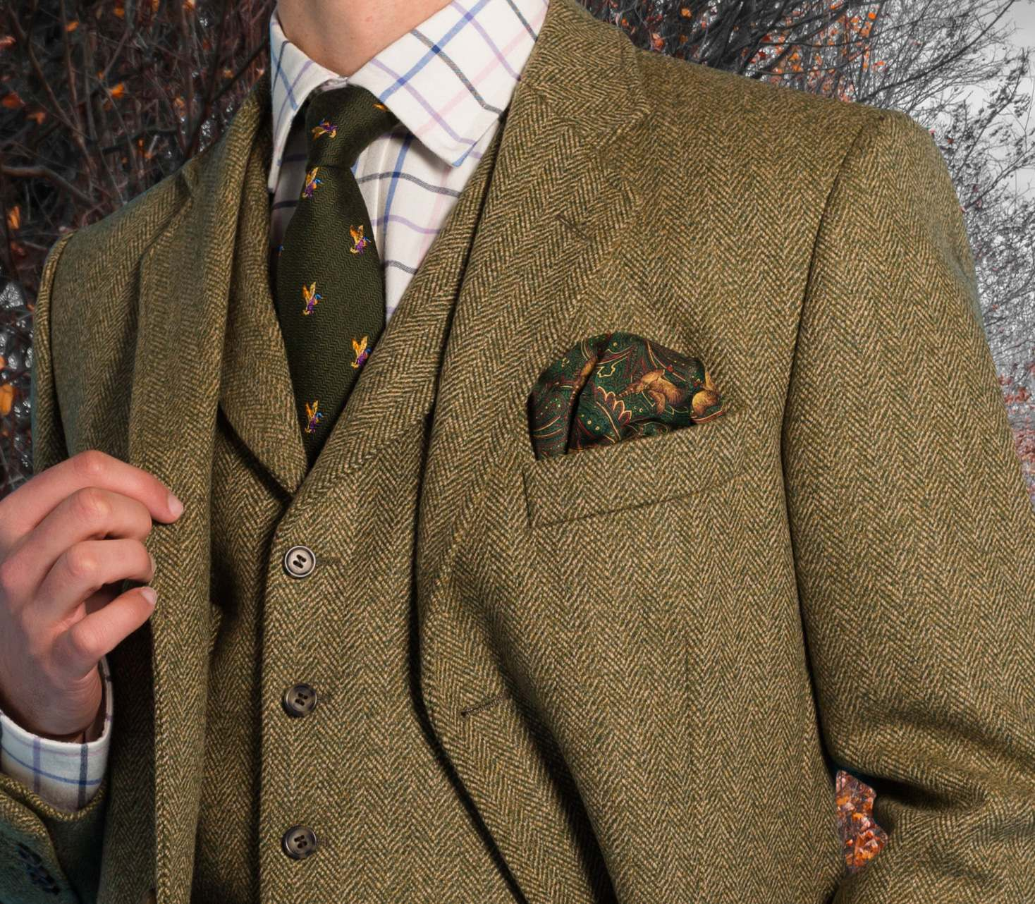 Tweed Wedding Outfit Ideas