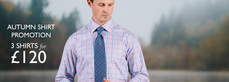 Men's Gingham & Poplin Shirts