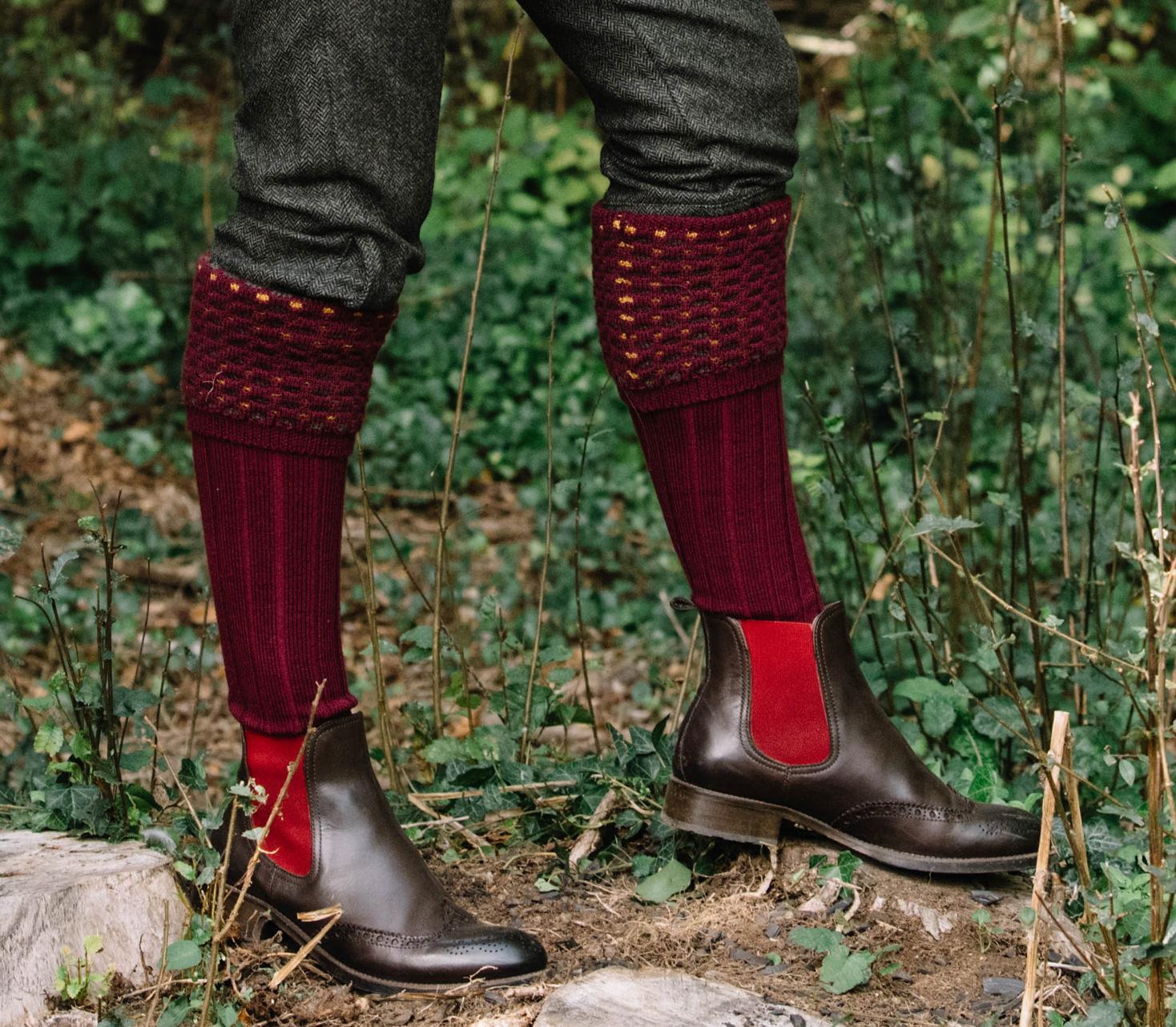 Ladies Shooting Socks