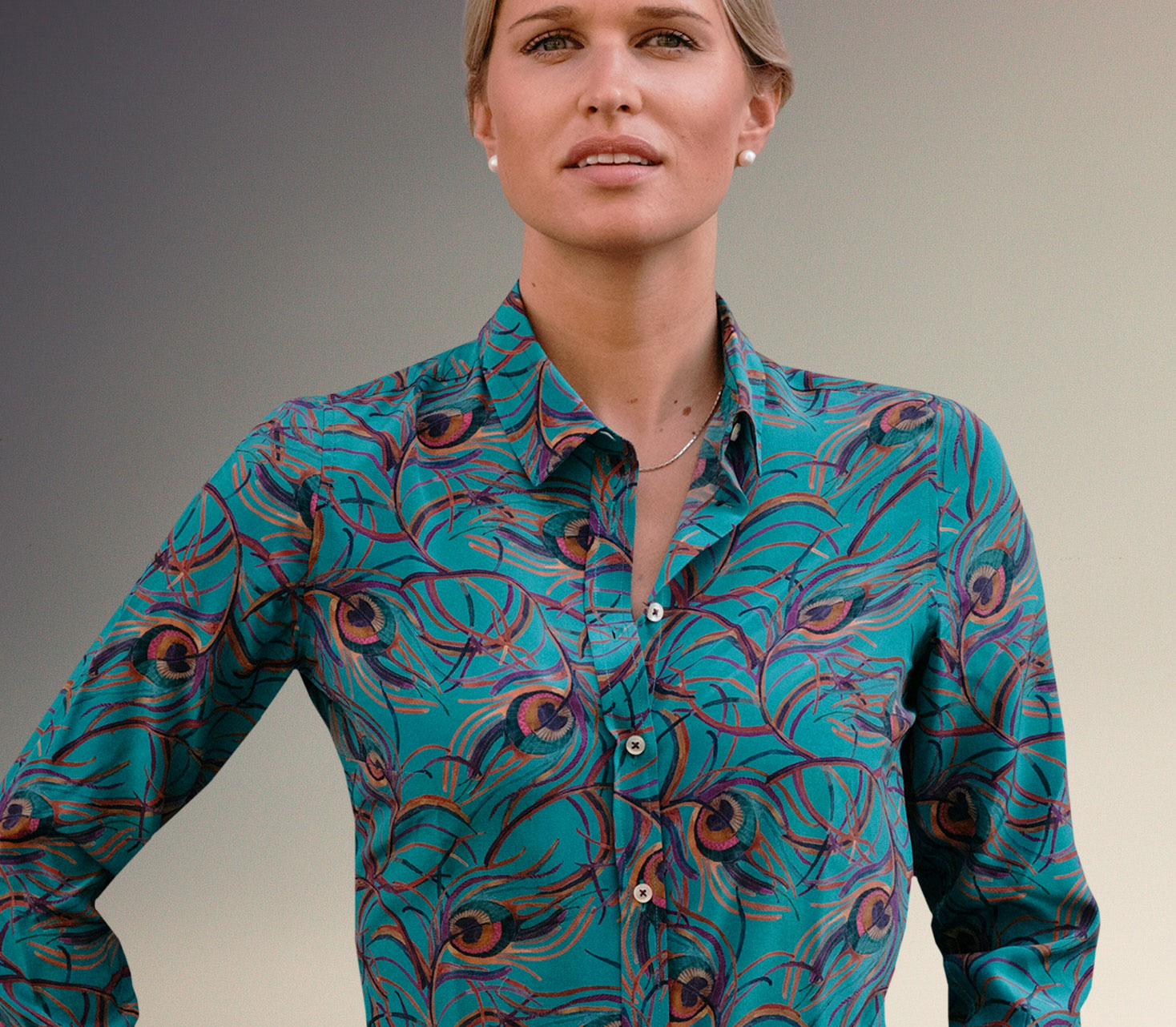 Ladies Silk Shirts