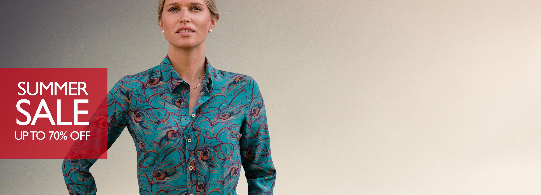 Ladies Silk Shirts
