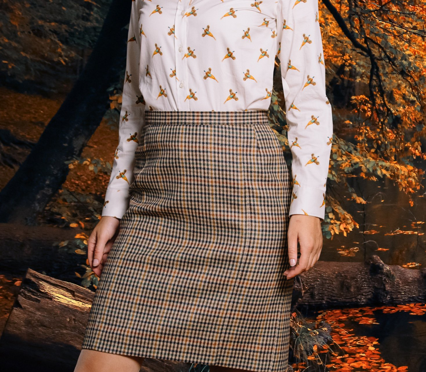 Ladies Tweed Skirts and Dresses