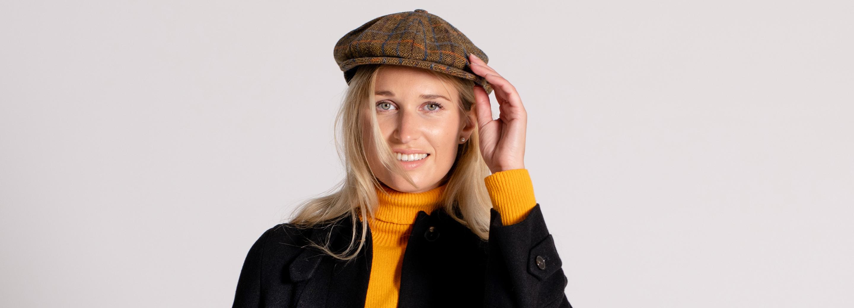 Ladies Waxed and Tweed Hats