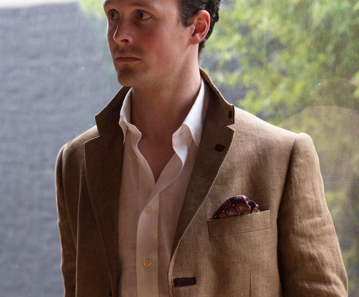 Men's Linen Jackets