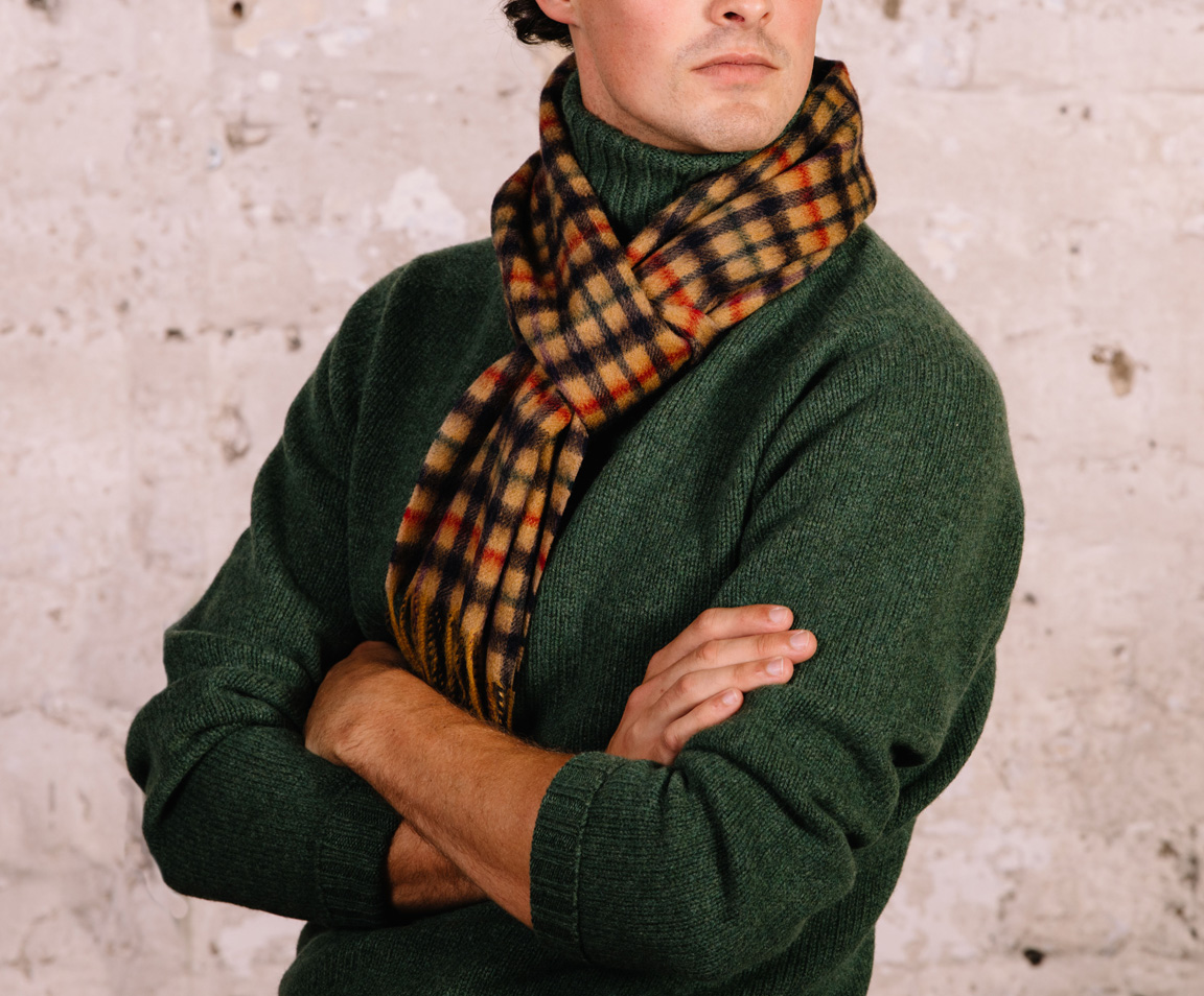 Men's Cashmere Scarves