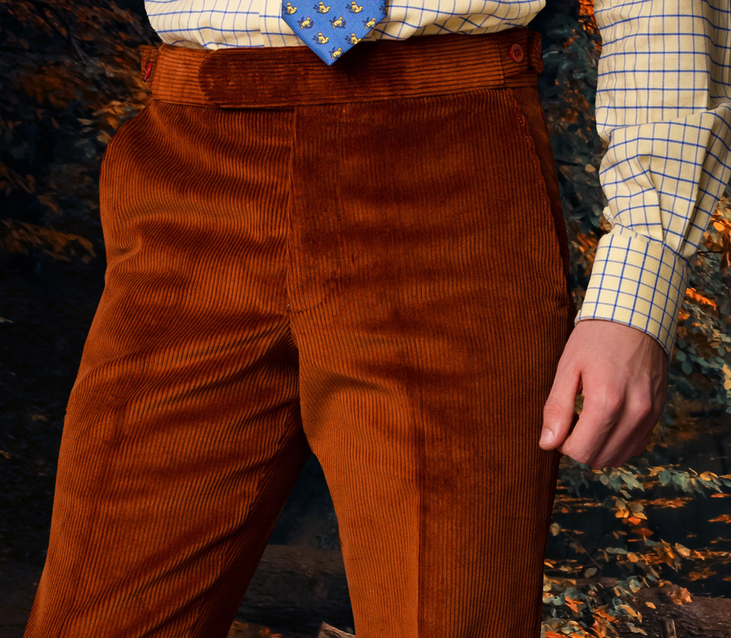 Cord and Needlecord Trousers