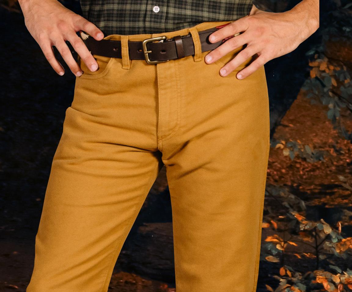 Men's Twill Jeans