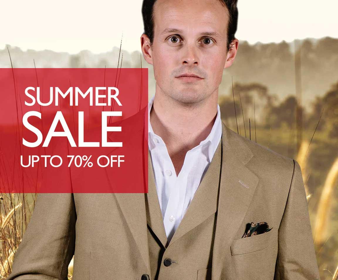 Men's Linen & Cotton Waistcoats