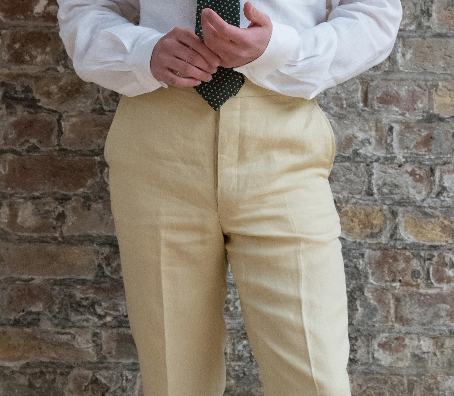 Men's Linen Trousers