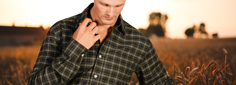 Large Check Shirts