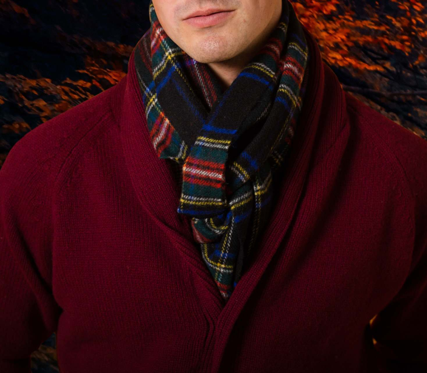 Men's Wool Scarves