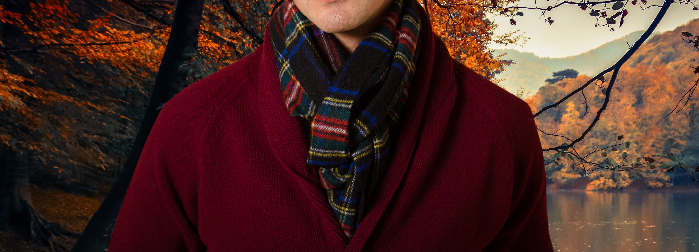 Men's Tartan Scarves