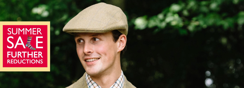Tweed Caps & Corduroy Hats