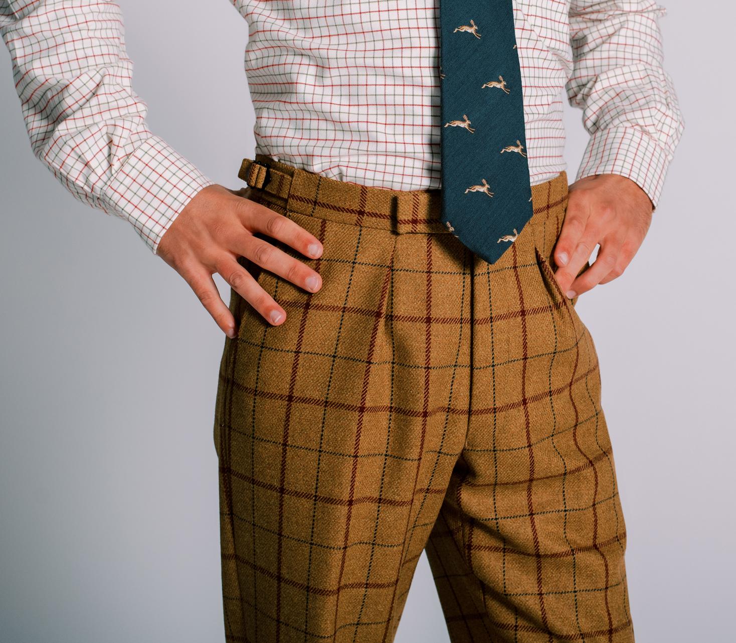 Men's Tweed Trousers