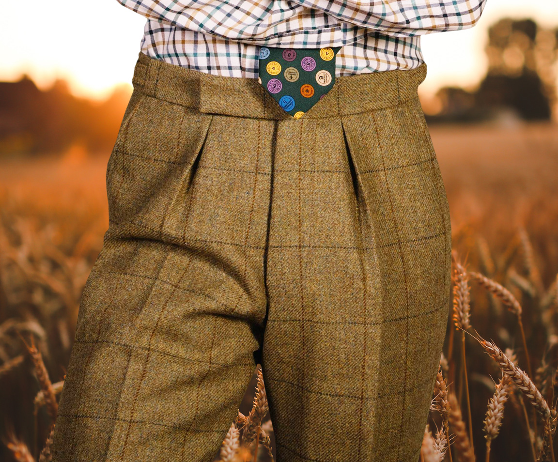 Men's Tweed Trousers