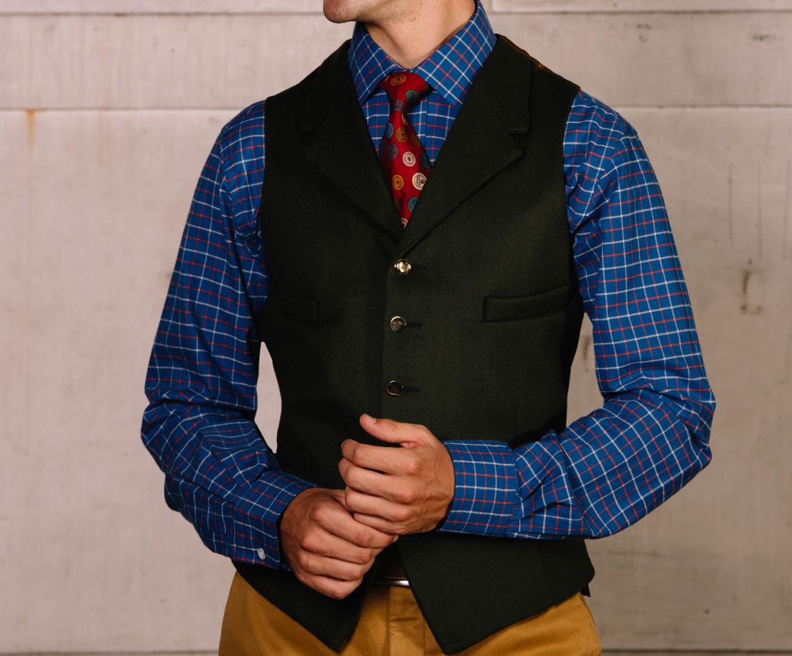 Men's Doeskin Waistcoats