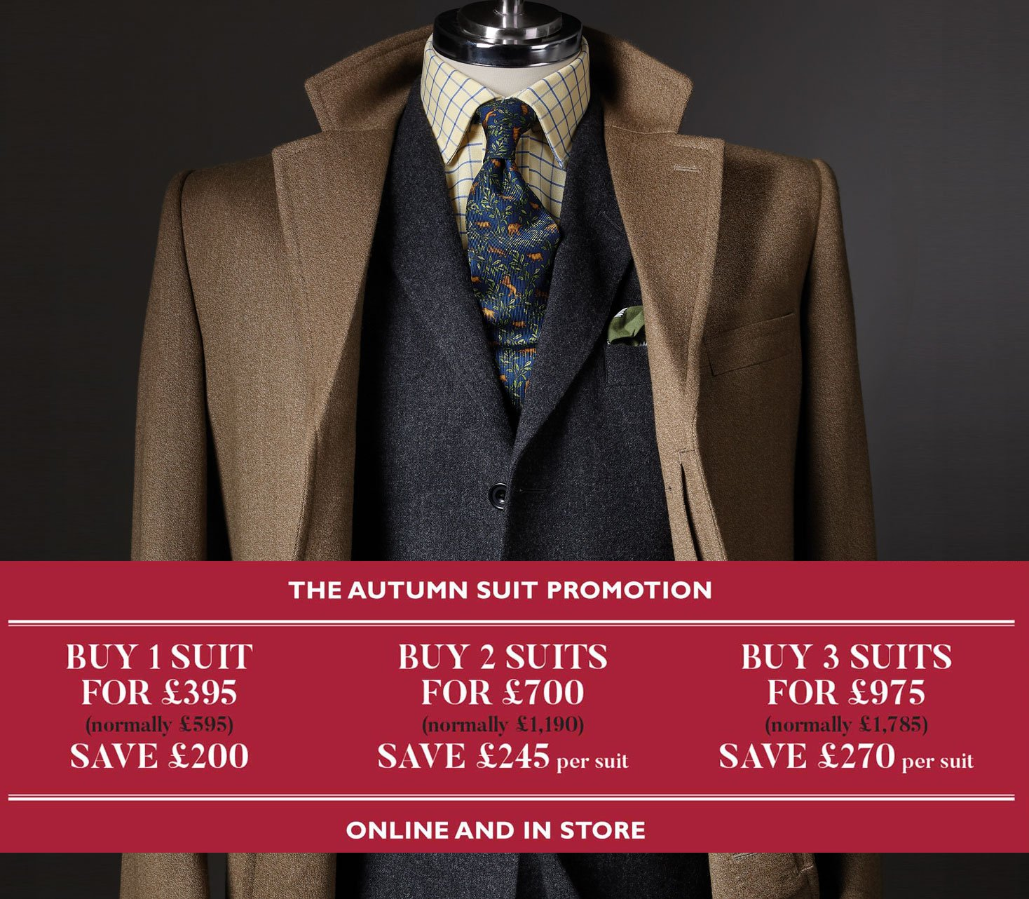 Three Button Suits
