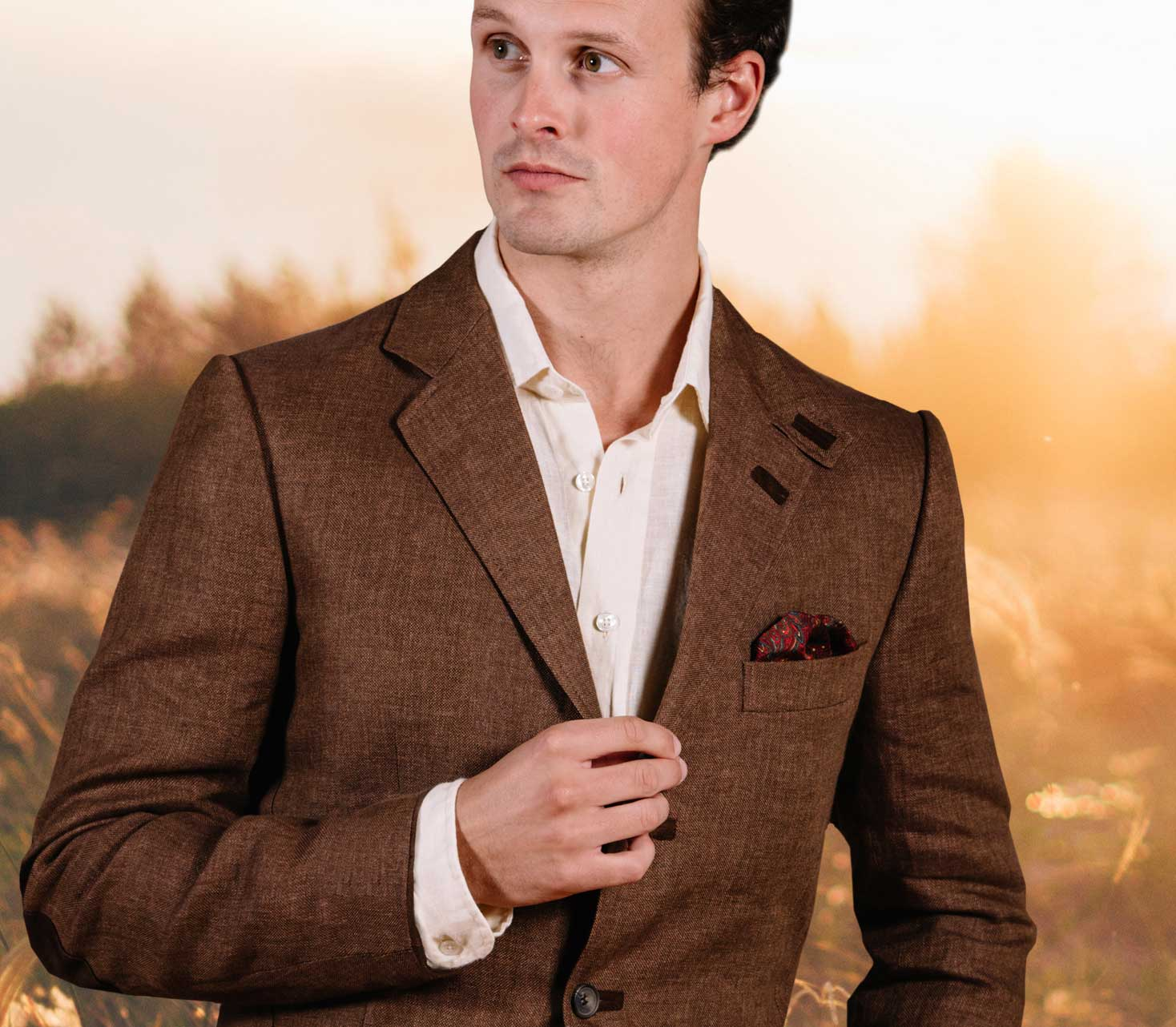 Tweed, Wool and Linen Jackets