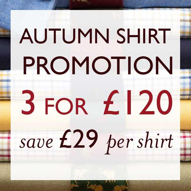 Autumn Shirt Promotion