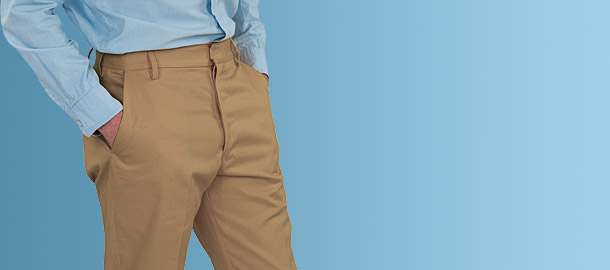 Chino and Cotton Twill Trousers