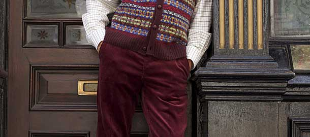 Needlecord Trousers