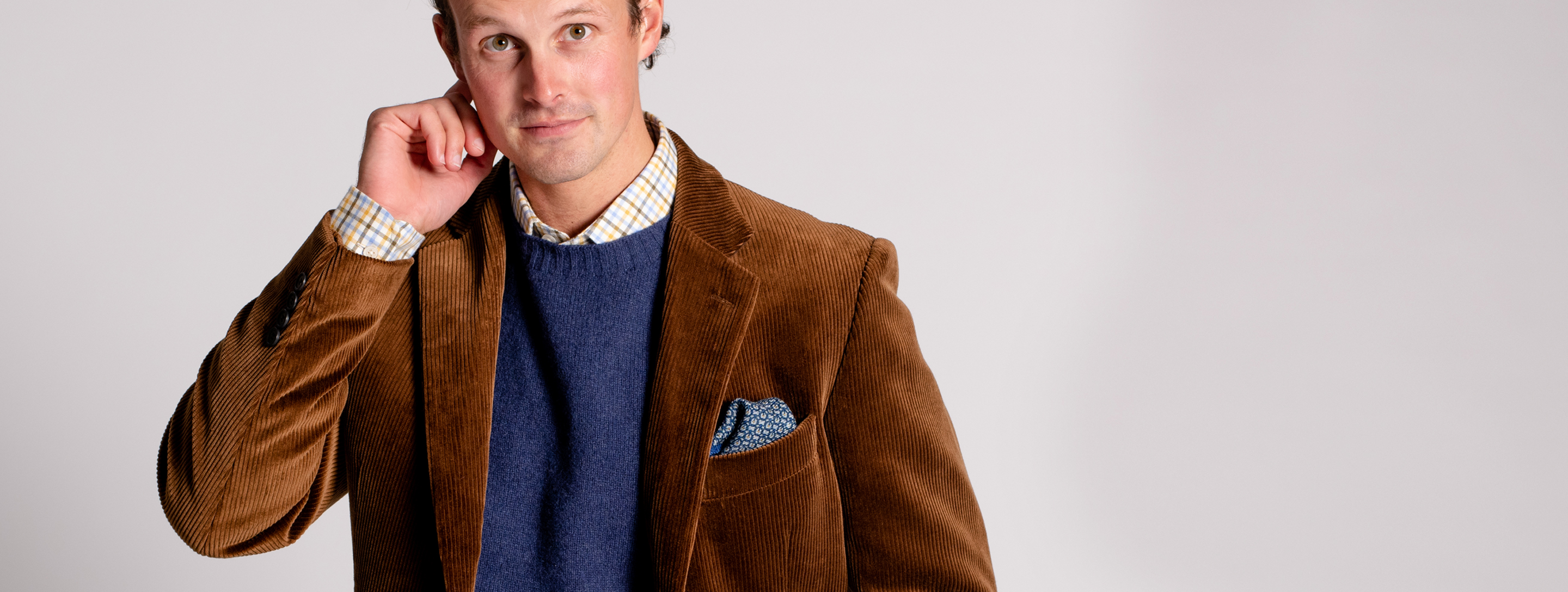 Tweed, Wool and Donegal Jackets