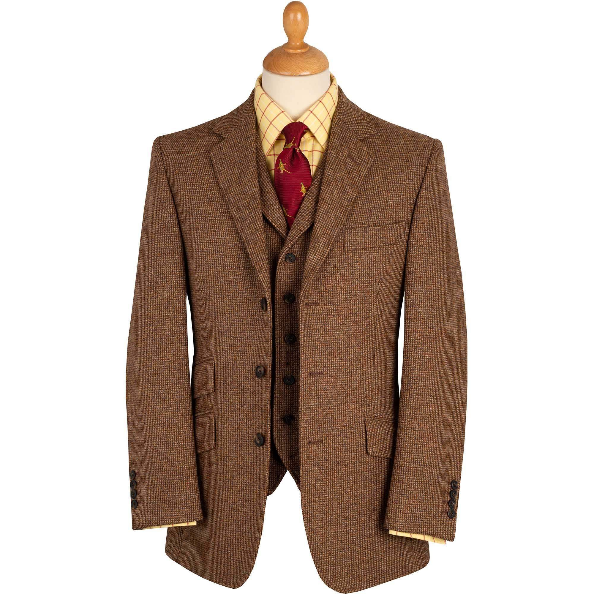 Brown Hunting Tweed Jacket Men S Country Clothing Cordings
