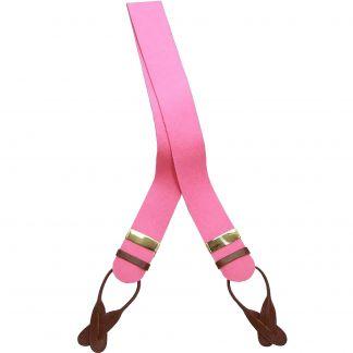 Cordings Pink Boxcloth Braces Main Image