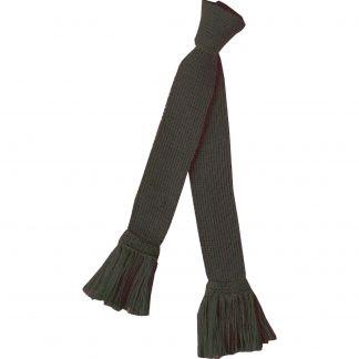 Cordings Loden Green Merino Garter Tie  Main Image