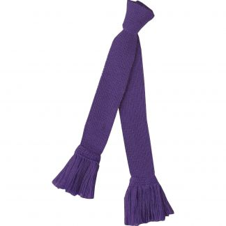 Cordings Purple Merino Garter Tie Main Image