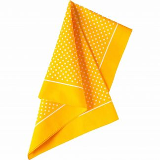 Cordings Yellow Spotty Cotton Bandana  Main Image