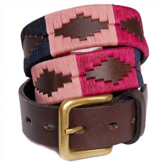 Cordings Berry Argentinian Polo Belt Main Image