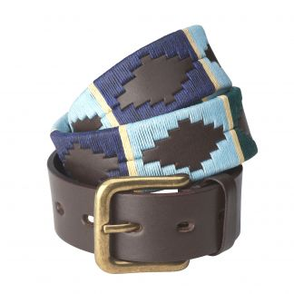 Cordings Gold Argentinian Polo Belt Main Image