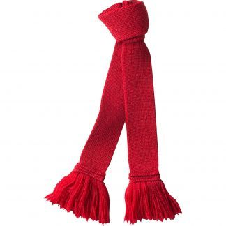 Cordings Red Berry Wool Garter Tie Main Image