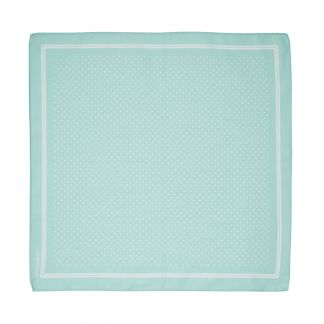 Cordings Pale Green and White Spots Cotton Hank Different Angle 1
