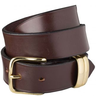 Cordings Brown Classic English Made Bridle Belt Main Image