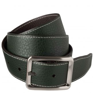 Cordings Brown Green Calf Grain Reversible Belt Different Angle 1