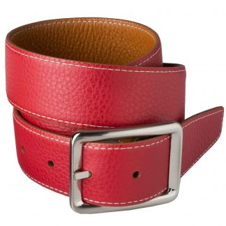 Cordings Brown Red Calf Grain Reversible Belt Different Angle 1