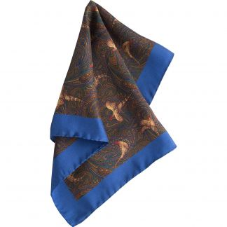 Cordings Bronze Pheasant Paisley Silk Hank Different Angle 1