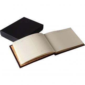 Cordings Small Leather Full Bound Game Book Different Angle 1