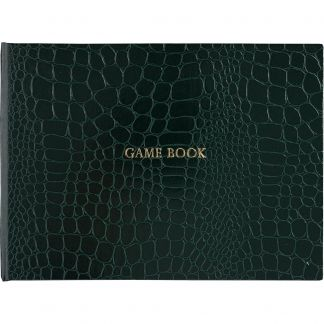 Cordings Green Leather Game Book Main Image