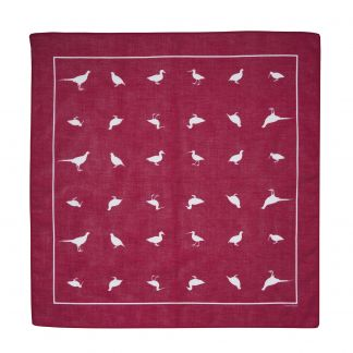 Cordings Burgundy Silhouette Game Bird Hank Different Angle 1