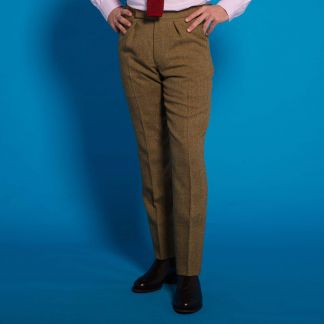 Cordings Barleycorn Tweed Trousers Different Angle 1