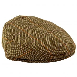 Cordings Sporting Check Tweed Garforth Cap  Main Image
