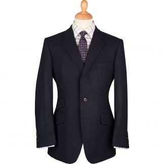 Cordings Navy Shetland Tweed Blazer Main Image