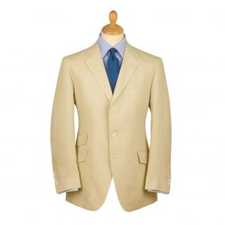 Cordings Sand Linen Jacket Main Image
