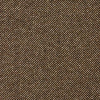 Cordings Mid Brown Herringbone Tweed Covert Coat Different Angle 1