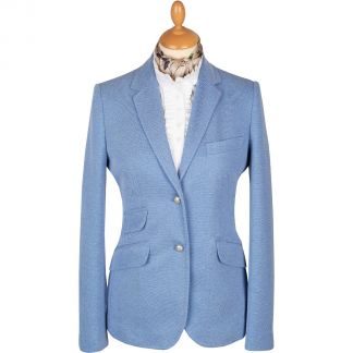 Cordings Blue Stretch Blazer Main Image