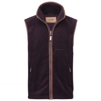 Cordings Schoffel Aubergine Oakham Fleece  Different Angle 1